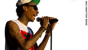 Rapper Wiz Khalifa's unusual inspiration