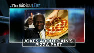 The RidicuList: Cain's pizza past