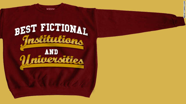 Best fictional universities