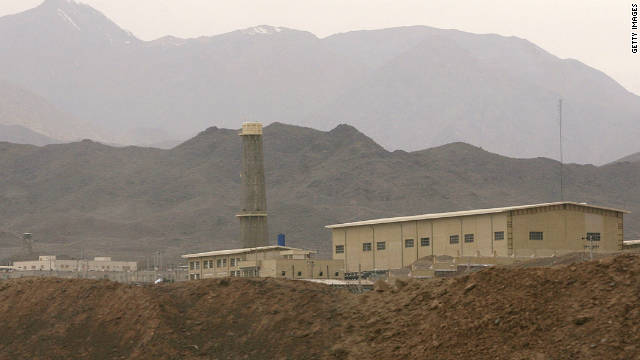 A view of Iran's Natanz uranium enrichment facility in Isfahan province. It is said to have 8,000 centrifuges in operation.