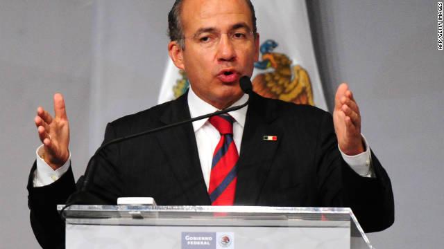 Calderón se estrena como «videobloguero»