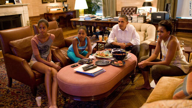 Obama not thrilled when kids watch Kardashians