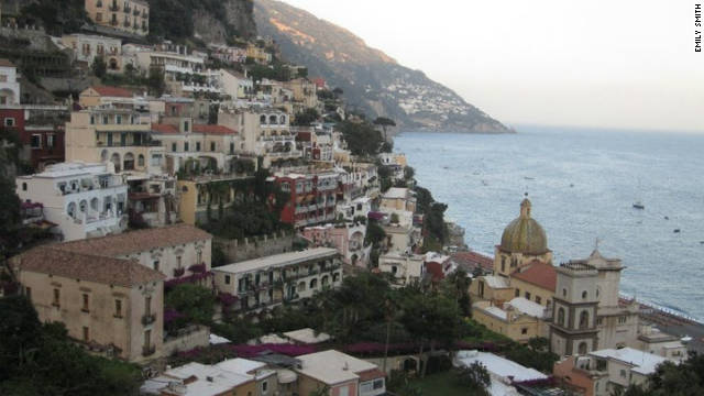 positano was used as the