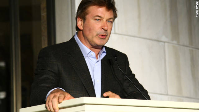 Actor Alec Baldwin tweeted Tuesday night: