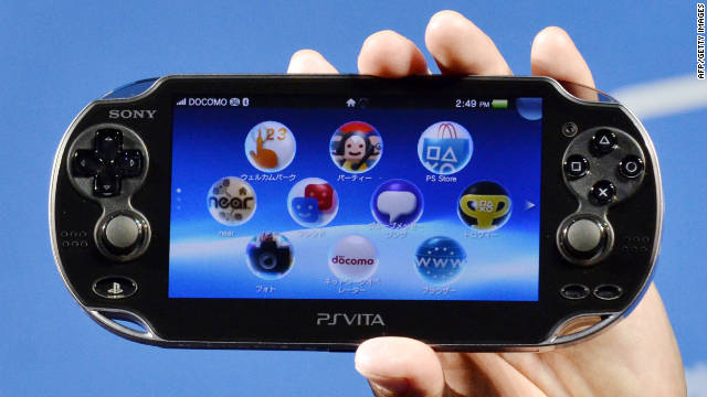 The PlayStation Vita will be available in two versions: with or without 3G data.