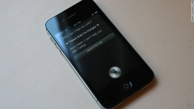 Siri in the iPhone 4S cannot send updates to Twitter, but its predecessor could.