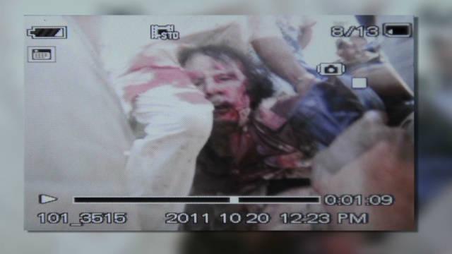 ¿Cómo terminó muerto Gadhafi si fue capturado vivo?