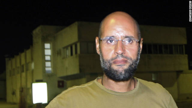 Gadhafi's son Saif being followed, Libyan transitional official says