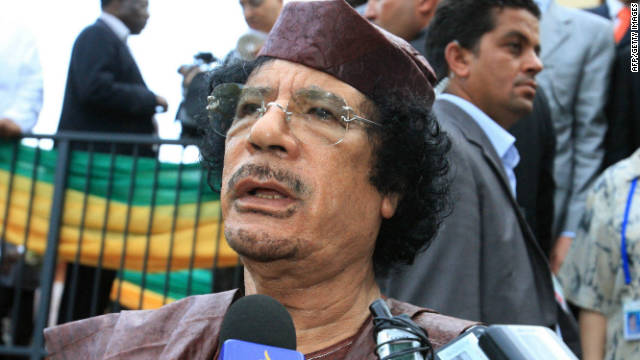 Gadhafi killed in crossfire after capture, Libyan PM says