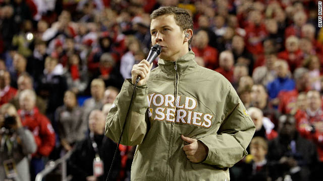 Did Scotty McCreery flub national anthem lyrics?