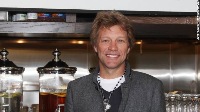 "In October, rocker Jon Bon Jovi opened ""Soul Kitchen"" restaurant in his home state of New Jersey. The pay-as-you-go community kitchen has no prices on the menu but asks people to volunteer or donate at least $10 for their meal. The buzz around this endeavor landed Bon Jovi on the top of Forbes Magazine's ""Most Valuable Celebrity Charity Relationships,"" which measures the amount of publicity generated by each star for their cause."