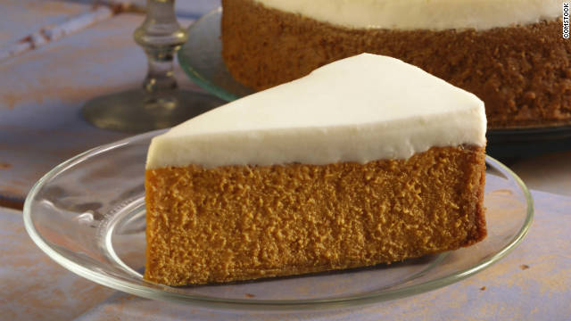 Breakfast buffet: National pumpkin cheesecake day