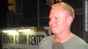 Former JetBlue flight attendant Steven Slater.