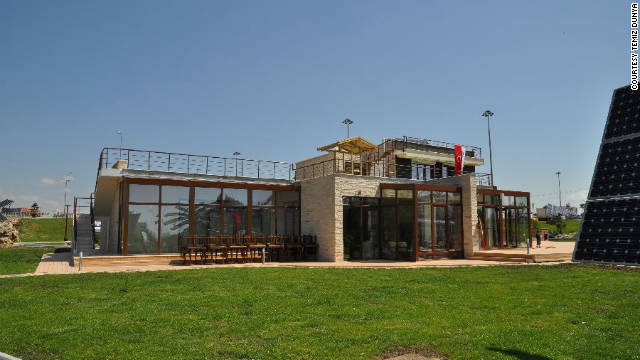 Antalya Solar House was built to educate the local population about the benefits of renewable energy.