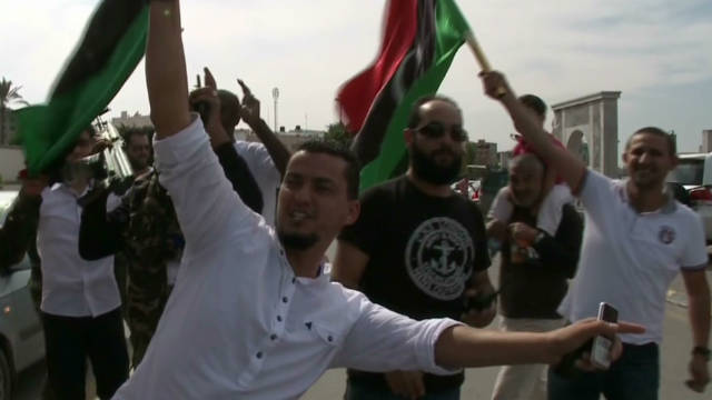 Libia festeja con júbilo la muerte de Gadhafi