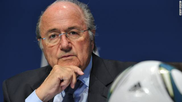 FIFA president Sepp Blatter announces the introduction of four new task forces and a