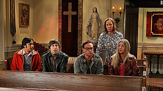 A visit from Mom on 'The Big Bang Theory'