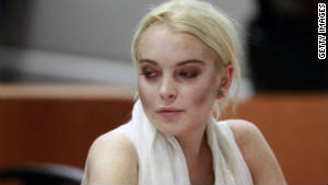 Lindsay Lohan must reappear Friday to do her community service after arriving too late to serve on Thursday.