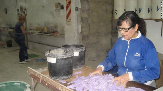 Carmen Perez, a balloon factory supervisor in Buenos Aires, says: