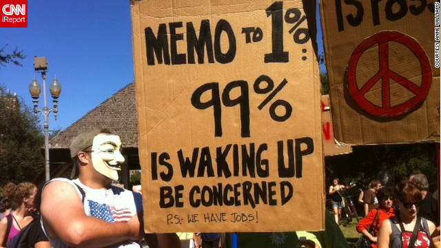 At Occupy New Orleans, 'It's about a discussion'