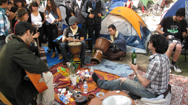 Occupy Los Angeles is a throwback with a contemporary message