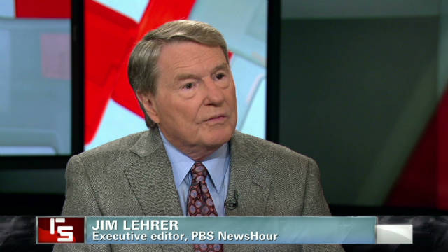 Veteran journalist Jim Lehrer discusses presidential debates on CNN's