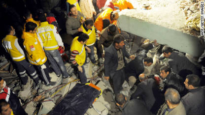 More than 230 dead in Turkey quake; 1300 more hurt - CNN.com | Yooex