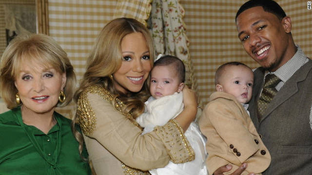 Mariah Carey, Nick Cannon show off #DemBabies