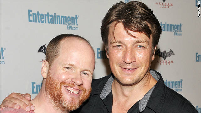 Joss Whedon, Nathan Fillion take on Shakespeare
