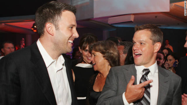 Matt Damon and Ben Affleck, together again