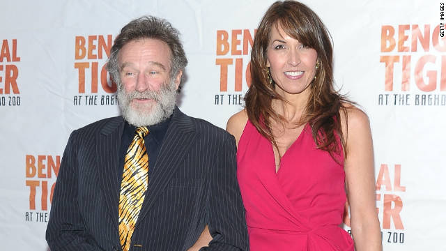 Robin Williams says 'I Do' in Napa