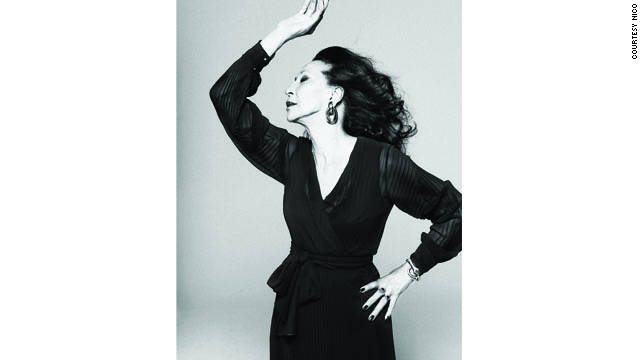 China Machado has been recently featured in the Spanish version of Harper's Bazaar.