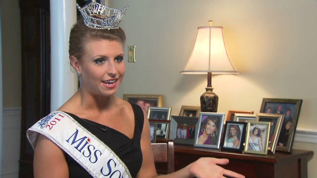 From overweight teen to beauty queen. STORY HIGHLIGHTS
