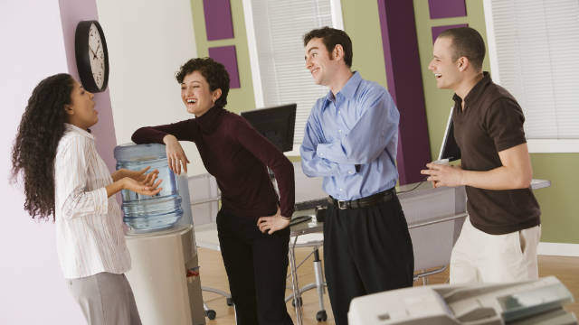 Being in an office clique can have a negative effect on your relationship with management.
