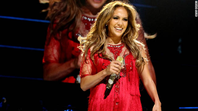 Jennifer Lopez explains the mid-concert tears