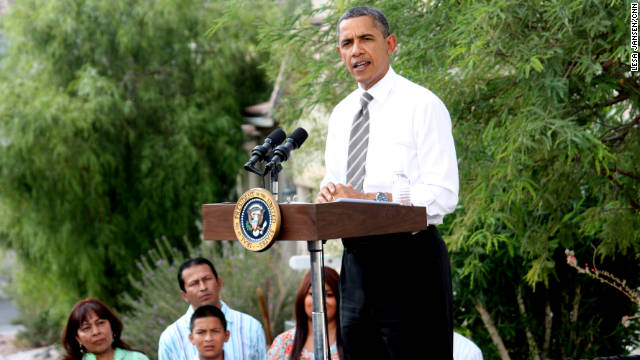 President Obama speaks Monday in Las Vegas to outline a program to help homeowners refinance to avoid foreclosure.