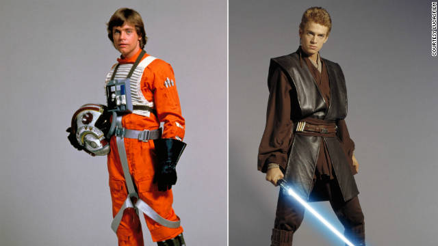 The 'Star Wars' divide: A tale of two costumes