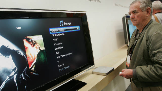 Apple's Web-TV device has underperformed, but a full TV may be on the way.