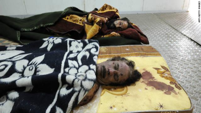 Termina la incertidumbre sobre el destino del cadáver de Gadhafi