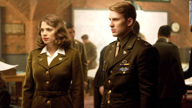 Hayley Atwell's 'Captain America' breakout role