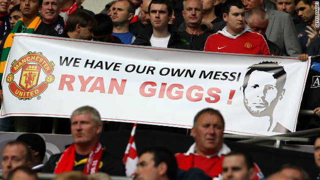 Ferguson famously beat United's rivals Manchester City to sign Giggs as a teenager, and the Welsh winger has repaid his faith by staying with the club until the present day.