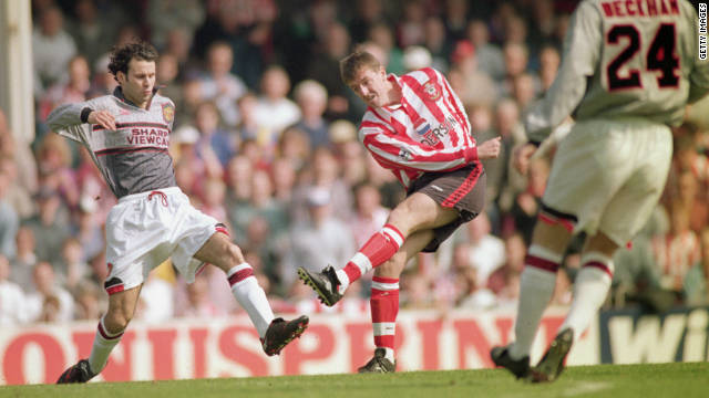 With United 3-0 down at halftime against Southampton in 1996, Ferguson ordered his players to change shirts for the second half. He claimed their grey shirts had made it difficult for players to pick each other out against the crowds. Unsurprisingly, United never wore that kit again.