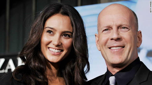 Bruce Willis, wife welcome baby girl