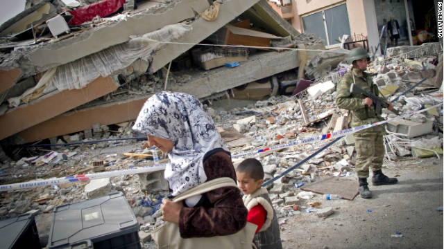 Need to Know News: Death toll soars from Turkish quake; Occupy Wall Street protesters support injured war vet