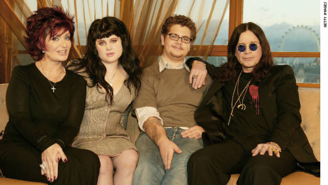 Sharon, Kelly, Jack and Ozzy Osbourne, shown here in 2004, were the stars of MTV's