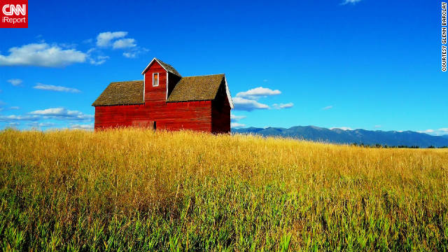 """The Red Barn just caught my eye as I was driving by,"" Glenn Barclay said about this photo. ""Drive by it all the time, but that autumn day it just hit me. It's an accident 'Kodak moment.' It felt like that last warm autumn afternoon before a cold front blows in, a calm before the winter."""