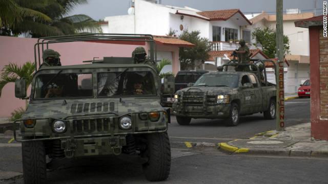 """Capturan a presunto líder de """"Los Zetas"""" en el estado mexicano de Veracruz"""