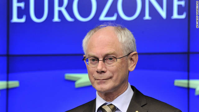 Herman Van Rompuy's memo singled out