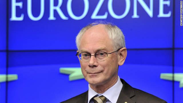 Herman Van Rompuy's memo singled out