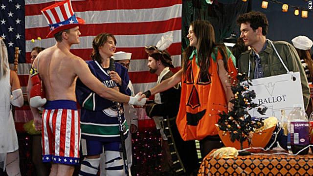 Katie Holmes as &#039;HIMYM&#039;s&#039; slutty pumpkin